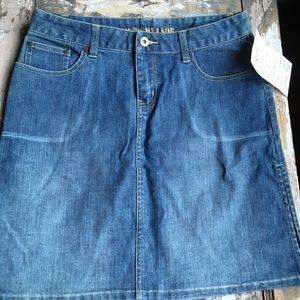 Dresses & Skirts - Distressed Denim skirt